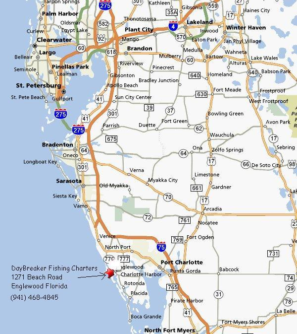 Image Result For Englewood Florida Map